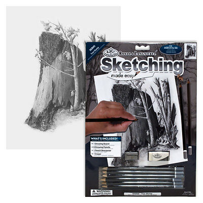 Tree Stump - SKBN9 Royal & Langnickel Sketching Made Easy