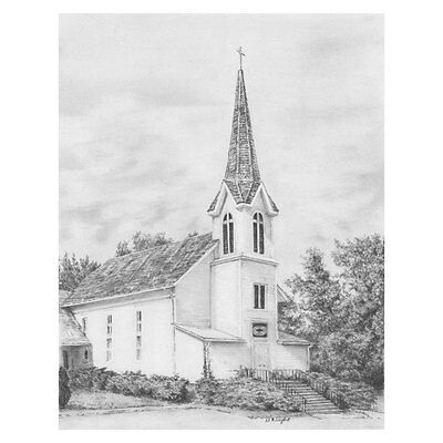 Ivy church - SKBN12 Royal & Langnickel Sketching Made Easy