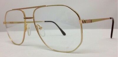 Vintage/Retro Aviator Gold Optical Glasses Frames For Prescription Lenses UK
