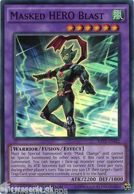 RATE-ENSE2 Masked HERO Blast Super Rare Limited Edition Mint YuGiOh Card