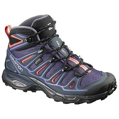 Scarpe Escursionismo Trekking Outdoor Donna SALOMON X ULTRA MID 2 GTX W Night