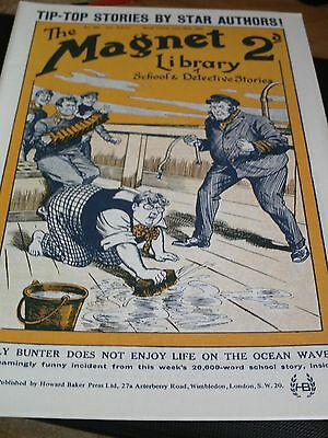 The Magnet No 802 & 803  Facsimile copies featuring Billy Bunter (1923)