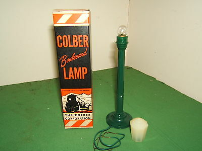 "VINTAGE COLBER CORP. SCALE MODELS  No.XXX   ""BOULVARD LAMP""    MIB"