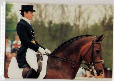 #233 tinne wilhelmson SWE - d equestrian collector card