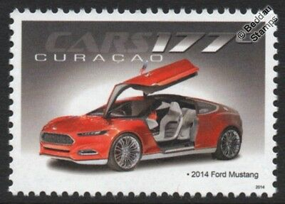 2014 FORD MUSTANG Classic Sports Car Stamp