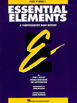 Essential Elements Book 1 for Flute Band Method Learn Beginner Music Lessons NEW