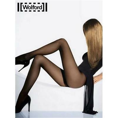 Wolford Individual 10 Tights pantyhose Color: Black Size: Medium 18382 -07