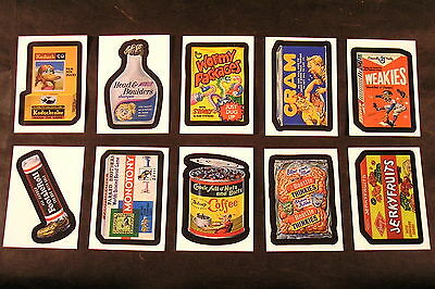 "2007 Topps Wacky Packages Series 6 ANS6 ""WHAT'S IN THE BOX?"" sub-SET OF 10 nm+"