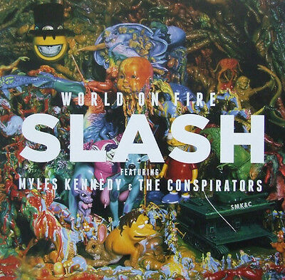Slash Feat Myles Kennedy And The Conspirators ‎– World On Fire Vinyl 2LP NEW