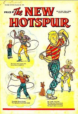 Uk Comics The Hotspur Near Complete Run Of 1000+ Boys Adventure Comics On Dvd