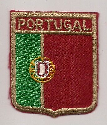 Country Of Portugal Souvenir Flag Patch