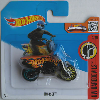 Hot Wheels - HW450F / Wastelander Enduro orange/blau/schwarz Neu/OVP