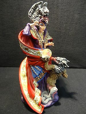 Guardian Of The Crystal Sorceress - Quest for the Crystalk~ DANBURY MINT~