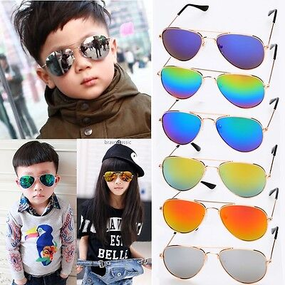New Fashion Kids Baby Boys Girls Children Classic Sunglasses Outdoor Glasses