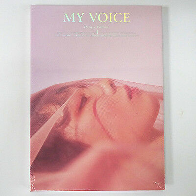 TAEYEON Girls' Generation - My Voice (Deluxe) [Blossom ver.] CD+Poster+Free Gift