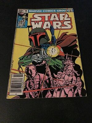 Star Wars #68 Classic Boba Fett Cover Awesome Comic!!