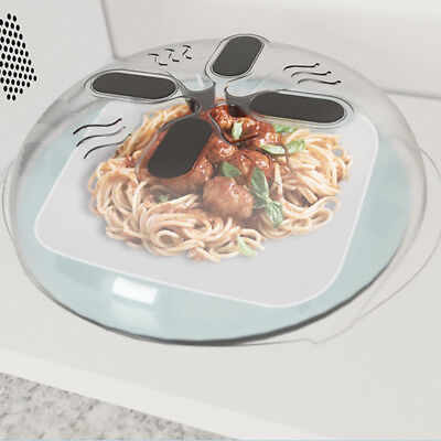 Magnetic Splatter Guard Microwave Hover Anti-Sputtering Cover with Steam Vents