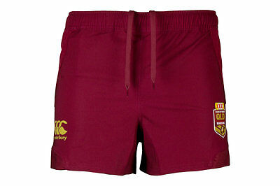 Canterbury Queensland State Of Origin 2017 NRL Players Rugby Shorts