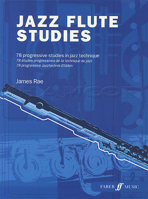 Jazz Flute Studies 78 Progressive Studies in Jazz Technique Sheet Music Book