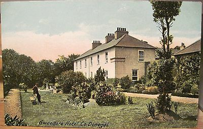 Irish Postcard GWEEDORE HOTEL County Donegal Ireland Lawrence Inland Germany