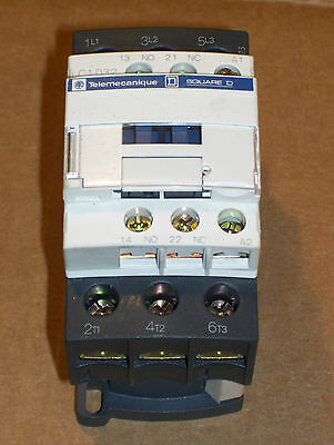New Sq Square D Telemecanique Lc1D3201F7 5-25Hp/240-600 Contactor 110V Coil N743
