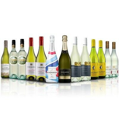 Impress the Guest ~ 13 Bottle Chandon Special Edition White Wine Selection