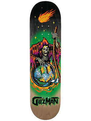 "Santa Cruz Skateboard Deck Guzman Smile 8.25"" Pro FREE GRIP & POST New"