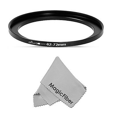 62-72mm Altura Photo Step-Up Metal Adapter Ring / 62mm Lens to 72mm Accessory