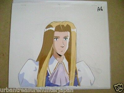 The Vision Of Escaflowne Allen Schezar Anime Production Cel 4