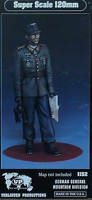 VERLINDEN PRODUCTIONS #1152 German General Mountain Division Figur in 1:16