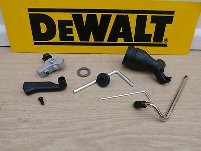 8Pce Set Of Dewalt Dcs355 Dwe315 Oscillating Multi Tool Fitments Guides Etc