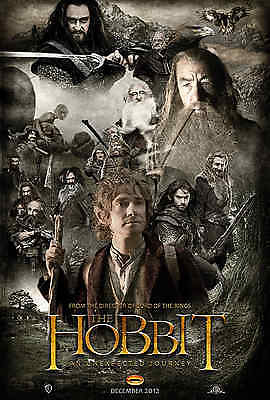The Hobbit: An Unexpected Journey 35mm Film Cell strip very Rare var_h