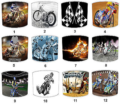 Speedway Bikes Lampshades Ideal To Match Speedway Bikes Wall Decals & Stickers