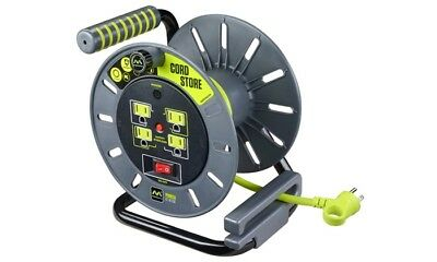 Masterplug Cord Reels - 4 Outlet Reel Only