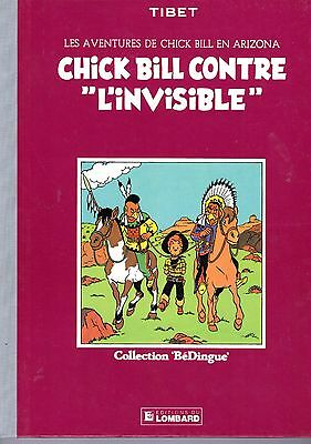 Chick Contre L'invisible Tibet  Bedingue Editions Du Lombard 1983 Mythique  Tbe