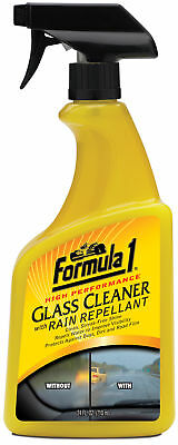 Formula 1 Glass Cleaner & Rain Repellent Windscreen Clear Visibility SafeDriving