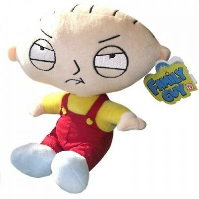 STEWIE GRIFFIN Originale PELUCHE 25cm TOP QUALITY Ufficiale FAMILY GUY PLUSH New