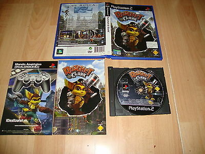 Ratchet & Clank 1 Para La Sony Play Station 2 Ps2 Usado Completo