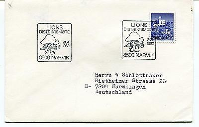 1982 Lions Distriktsmote Narvik Norge Polar Antarctic Cover