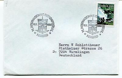 1980 INTERNASIONALE SIOFISKERFESTIVAL Harstad Norge Polar Antarctic Cover