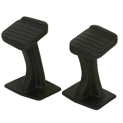 "New Atv Passenger Foot Pegs Rests Pair Double Ride Pedals 8"" Rise"