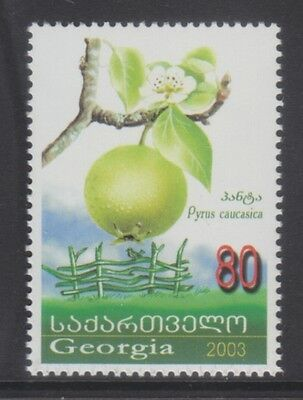 Georgia 2003 - Frutta - Fruits - T. 80 - Mnh