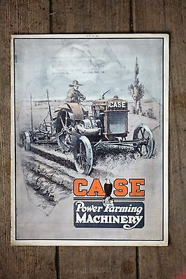 Scarce ORIGINAL 1922 J. I. Case Power Farming Machinery Catalog, Excellent
