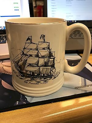 Old Ironsides 1797 Mug Lord Nelson Pottery