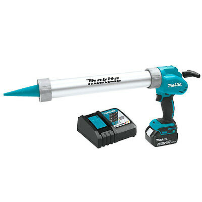 Makita XGC01T1B 18-Volt 20-Oz. 5.0Ah Lithium-Ion Cordless Caulk/Adhesive Gun Kit