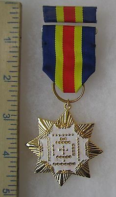 ORDER of COSMIC DIAGRAM - Post WW2 Vintage TAIWAN ROC CHINA AIR FORCE MEDAL