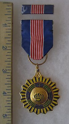 Post WW2 Vintage TAIWAN ROC CHINA PI LIANG OUTSTANDING STALL MEDAL Class A