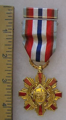 Post WW2 Vintage TAIWAN ROC REPUBLIC of CHINA EXEMPLARY MEDAL 1st Grade Class A