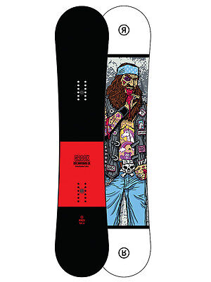 Ride Crook Wide All Mountain Snowboard 2017 Größe: 157w
