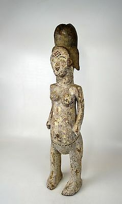 A Large Vintage Punu Female Ancestor sculpture, African Tribal Art